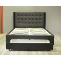 Tufted Drawer Bed
