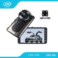 "Private Model Dual Lens Car DVR Nov atek 96655+AR0330 FHD 1080P 4.0"" IPS Screen Night Vision Car Cam"