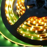 96led/m 3528 LED tape flexible strip waterproof IP43 non waterpoof brown PCB thumbnail image