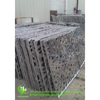aluminum hollow sheet for wall design