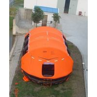 MED approved Davit launched type life raft