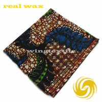 cheap super wax real wax batik print veritable block print guaranteed african guinea brocade fabric