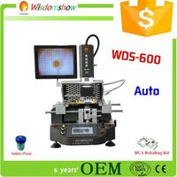 china supplier WDS-600 replacement bga tv repair machine with optical system version