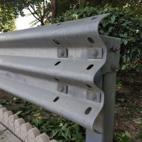 Mash TL4 Aashto M180 Galvanized Highway Guardrail Traffic Road Crash Barrier Beams