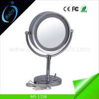 LED modern standing mirror, wedding table decoration mirror with lights thumbnail image