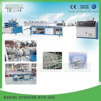 Small Soft PVC Pipe Extrusion Extruding Make Machine Line
