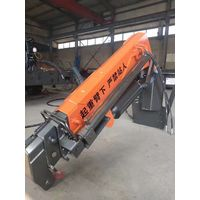 Forklift flying boom crane, plug-in truck and crane, dual purpose in one truck thumbnail image
