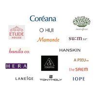 korea cosmetic, 3CE, Banila Co, Laneige, Hera, Etude house, Tony Moly