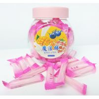 4g Strawberry flavor magic stick hard and sweet candy multi fruit flavor available