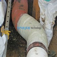 Industrial Use Quick Bonding Pipeline Fix Wrap