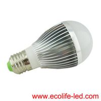 5W led bulb AC85-265V/DC12V CE RoHS hot sell