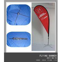 2M FLYING BANNER FLOOR STAND
