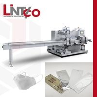 Automatic 4 side seal packing machine for KF94 face mask thumbnail image