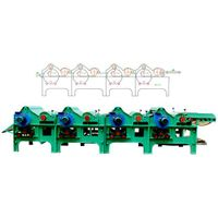 GM250 four cylinder textile waste recycling machine thumbnail image