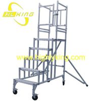 Aluminium Mobile Podium Steps /mobile platform(HJ-118)