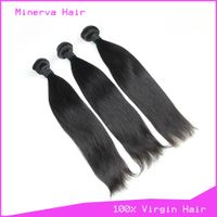 Wholesale Malaysian virgin human hair bundles straight thumbnail image