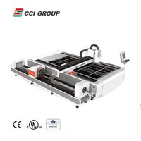 FLC3015TP cnc 500w stainless steel sheet metal tube laser cutting machine thumbnail image