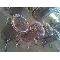 stainless steel brew kettle
