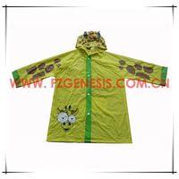 #kids078 children pvc rain coat