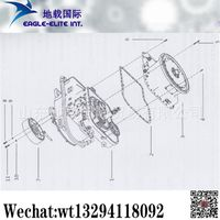 XCMG Loader ZL50G 2BS315A(D) Transmission Assembly