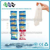 Non-woven disposable magic tissue in 4pc color bag thumbnail image