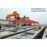 900 t i beam 24 m bridge beam launcher machine
