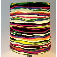 round colorful plastic lampshade