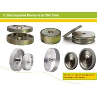 Professional diamond CBN grinding wheel factory thumbnail image