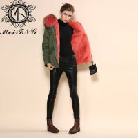 2015 top quality navy winter women parka coat