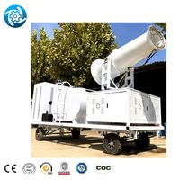 Fog Cannon For Stage Fog Cannon Portable Fog Generator Mist Cannon Free Standing Dust Suppressor thumbnail image