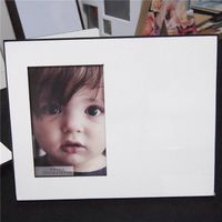 sublimation blanks MDF photo frames factory in china