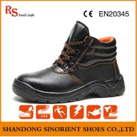 double dual density pu inject safety shoes
