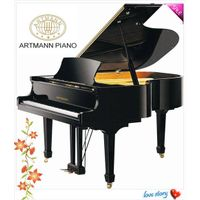 Artmann High Fashion Grand Piano With Auto CD Player System GP186S1
