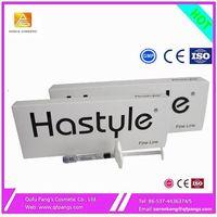 High quality Hastyle Hyaluronic acid injection dermal filler gel