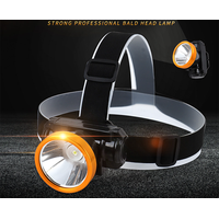 Lithium battery LED outdoor headlight, strong light, super bright, head wearing, rechargeable waterp thumbnail image
