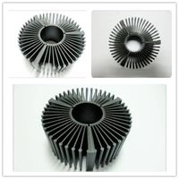 KB-H1434 Black anodized heat sink