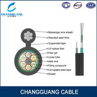 Gyxtc8s Outdoor Fiber Cable China Manufacturer Price Per Meter Fiber Optic Cable Figure 8 Self Suppo