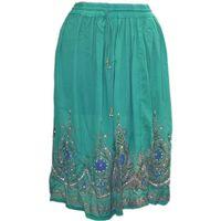 Hippie Sequin Lengha Ghagra Belly Dance Indian Skirt Boho Gypsy medium skirts thumbnail image