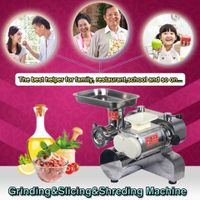 Stainless steel cheap price meat cutter ,meat cutting machine,DHL shipping thumbnail image