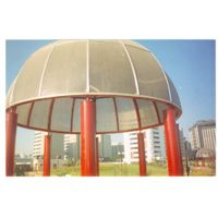 manufacturer of space frame,domes,skylight and canopies structures thumbnail image