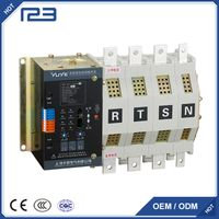 YES1 series N,NA,C type Dual-power automatic transfer switch(two section)160A-400A