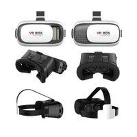 3D Gear VR Virtual Reality Glass Headset for iPhone, Samsung 4.0-6.5 Inch Screen