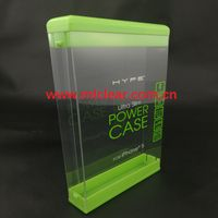 PET clear palstic sleeve packaging PVC transparent electrical boxes