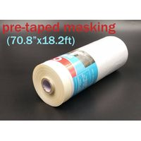 house painting masking film with tape 180CM