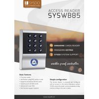 TCP/IP Access Control Reader For Access Control Solutions