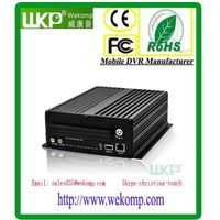 WKP 3G 4CH HDD Vehicle Mobile DVR BW Series Video Surveillance Car Security