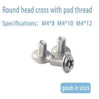 Cross round head screw with self cushion round head screw m3 M4 M5 thumbnail image