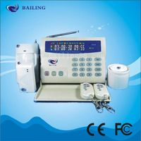 Color LCD GSM Wireless Intelligent Alarm System thumbnail image