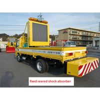 Truck Mounted Attenuator(Stationary Type) Crash Pad For Highway Maintenanfixed reared shock absorber