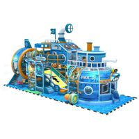 Customized Themed Submarine Indoor playground Soft Play Structure thumbnail image
